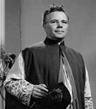Monsignor Thomas F Collins in 1954